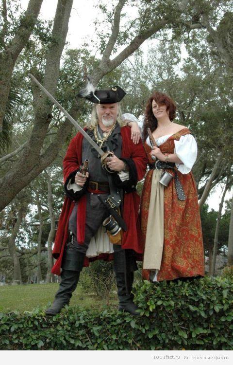 костюмы_пиратское время