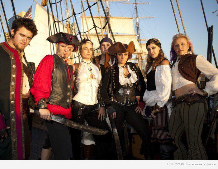 атмосфера праздника Дня пиратов