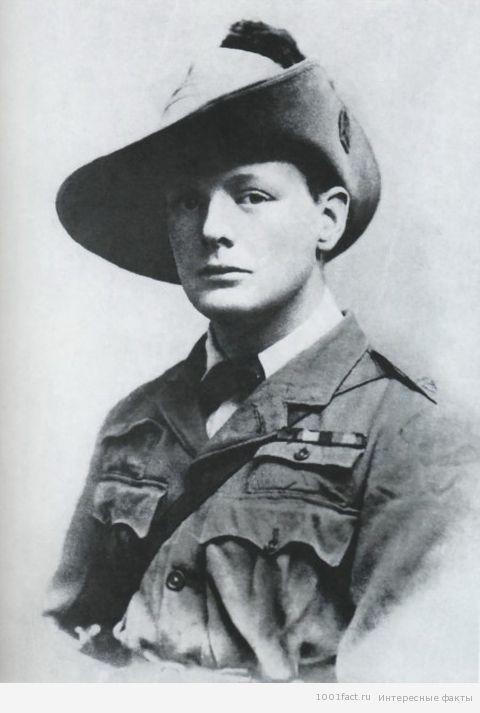 Черчилль в молодости