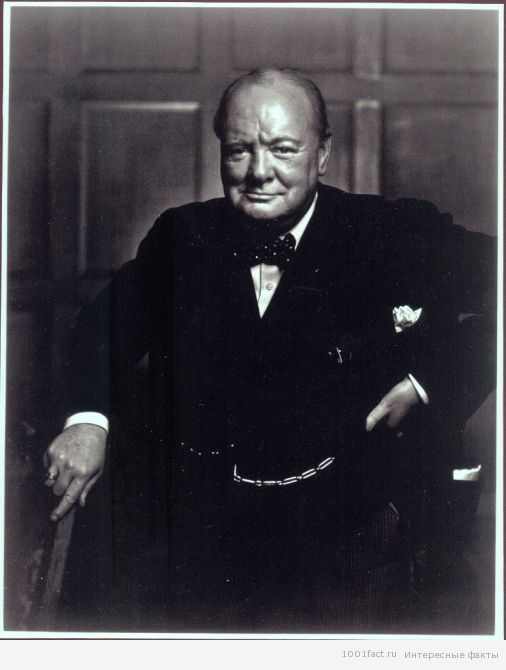великий У.Черчилль