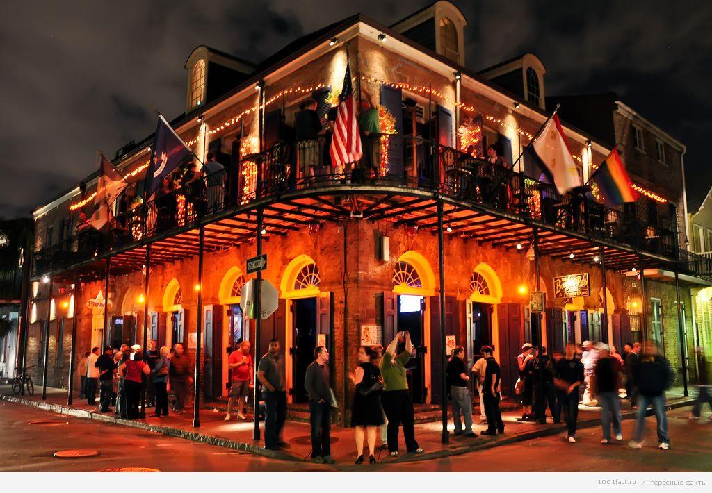 Новый Орлеан вечером