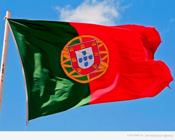 флаг Порутгалии