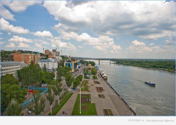 города вдоль реки Дон