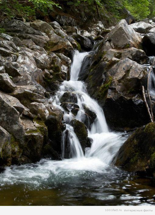 водопад_озеро Амут