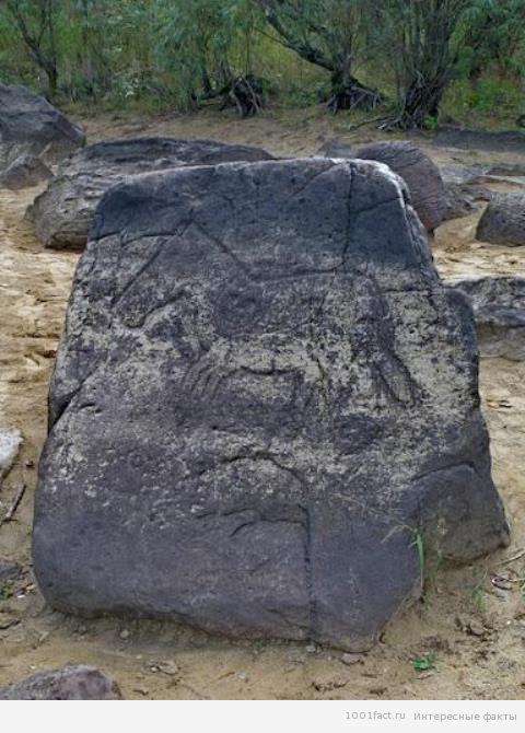 разные петроглифы