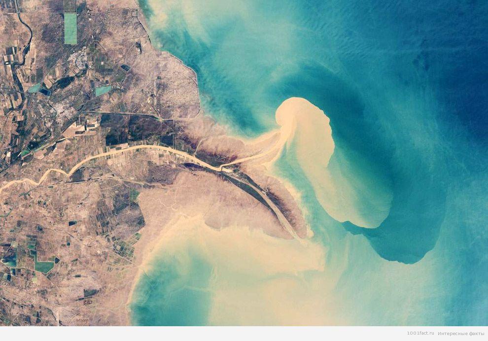 река впадает в Желтое море