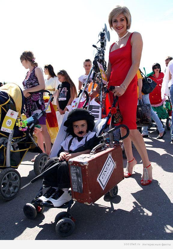 украшение колясок и малыша
