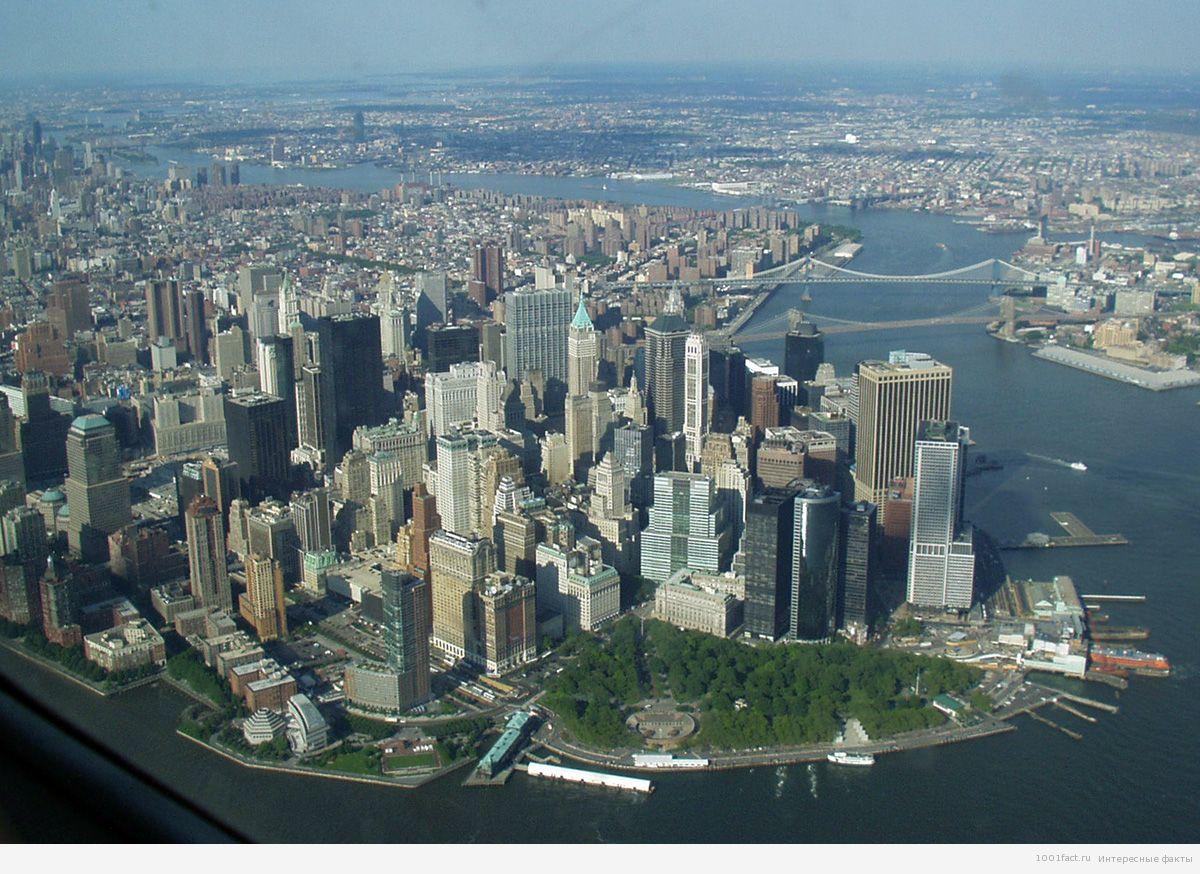 город в Америке_Манхеттен