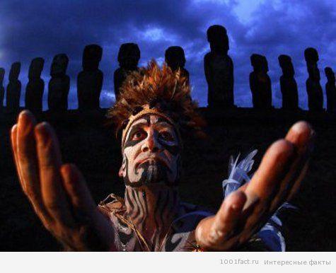 народ на острове Пасхи