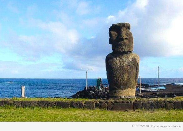 таинственный остров Пасхи