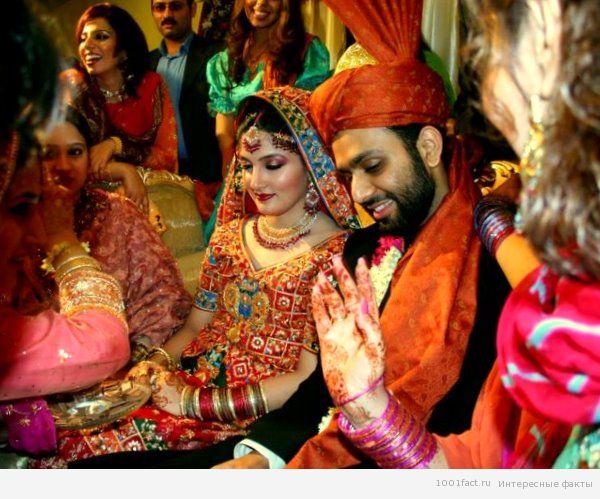 индийские свадебные традиции