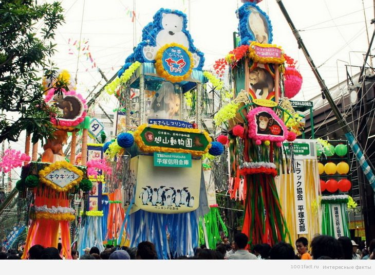 фестиваль Танабата