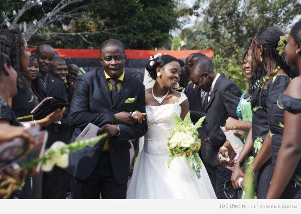нигерийская свадьба
