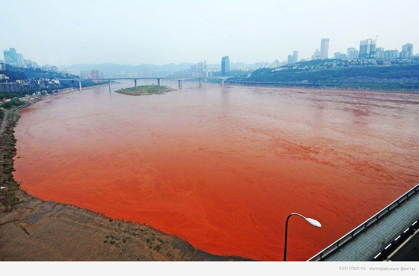 Земля_Красная река в Китае
