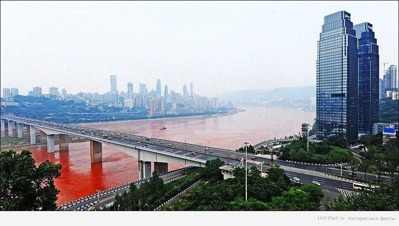 приток реки Янцзы