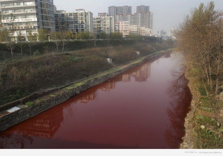 Кровавая или Красная река