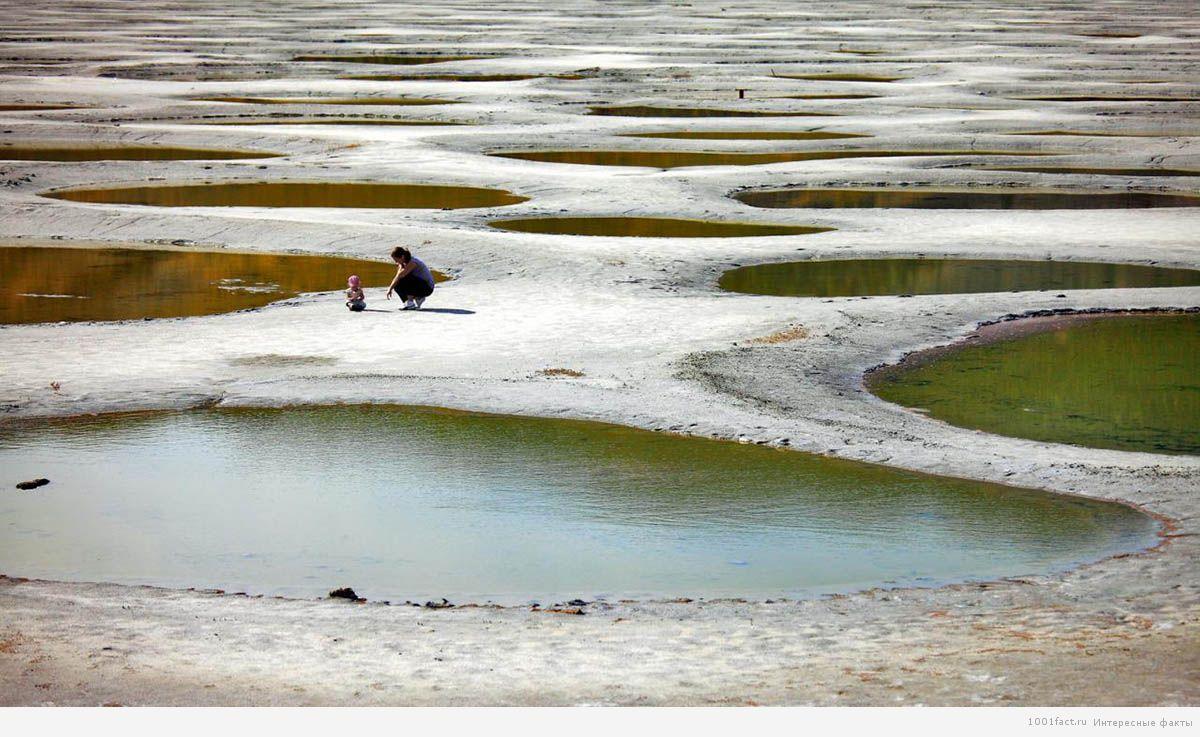удивительное озеро Кликук в Канаде