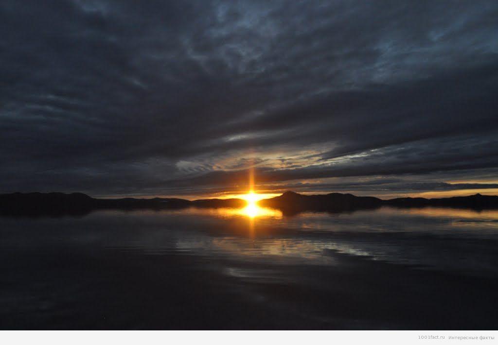 вечер_озеро Эльгыгытгын