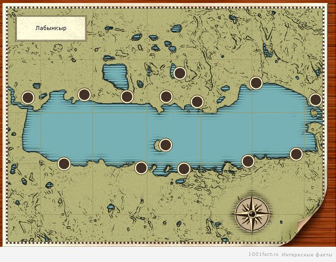 карта_озеро Лабынкыр