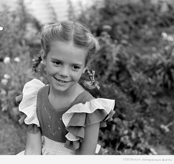 Натали Вуд в детстве