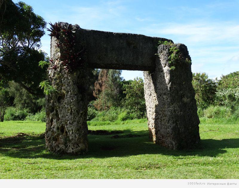 мегалит Хаамонга-Мауи