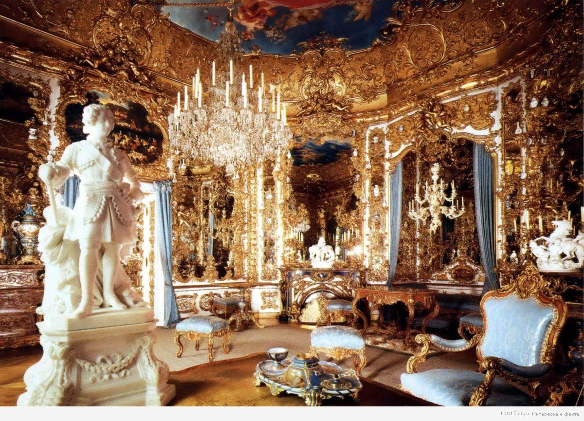 красота и богатство залов замка