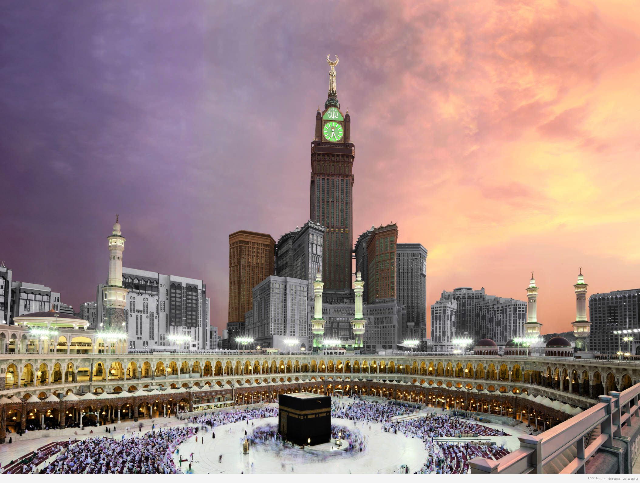 Башня Абрат Аль Баит