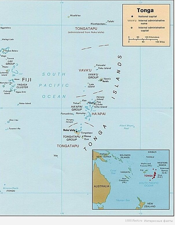 карта_Тонга