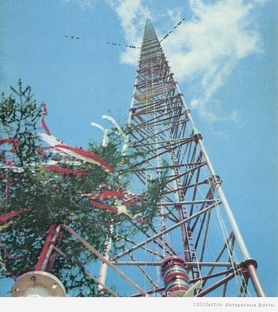 Радиомачта в Варшаве