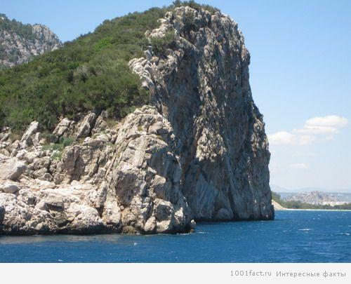 вид на остров