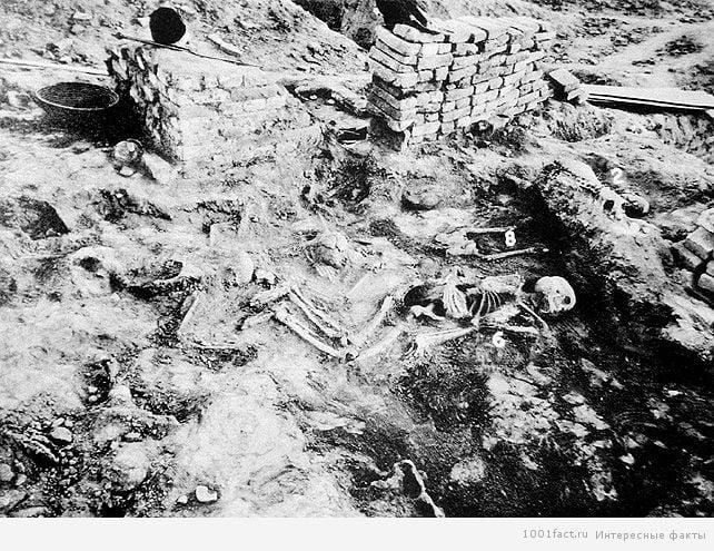 останки древней цивилизации