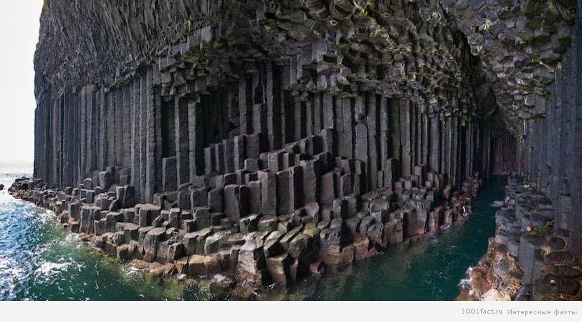 уникальная Фингалова пещера
