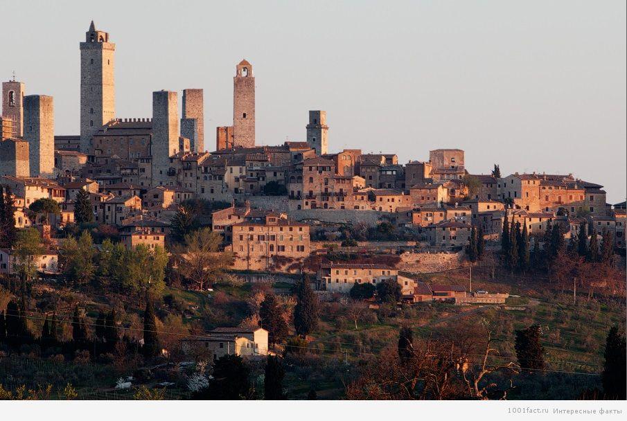 Сан Джиминьяно_древний город
