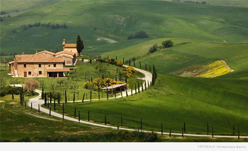 природа Тосканы
