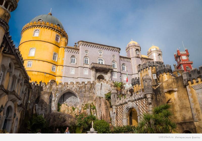 Португалия_замок Де-ла-Пена