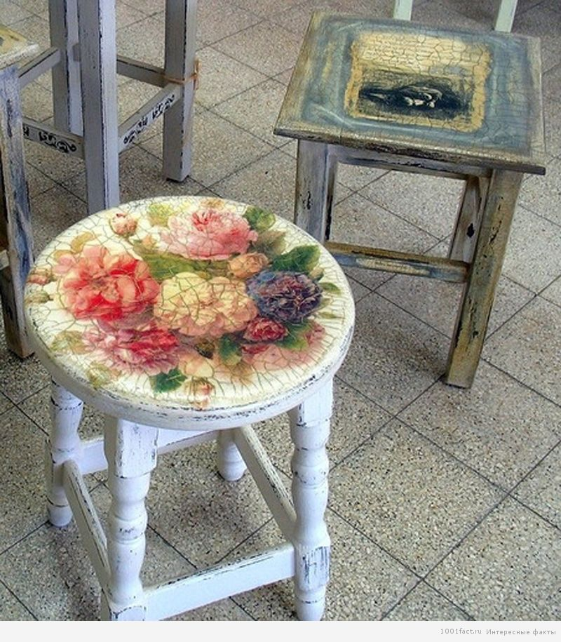 стулья_декупаж