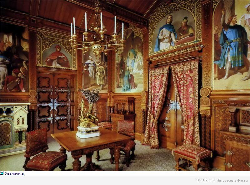 залы замка Хоэншвангау