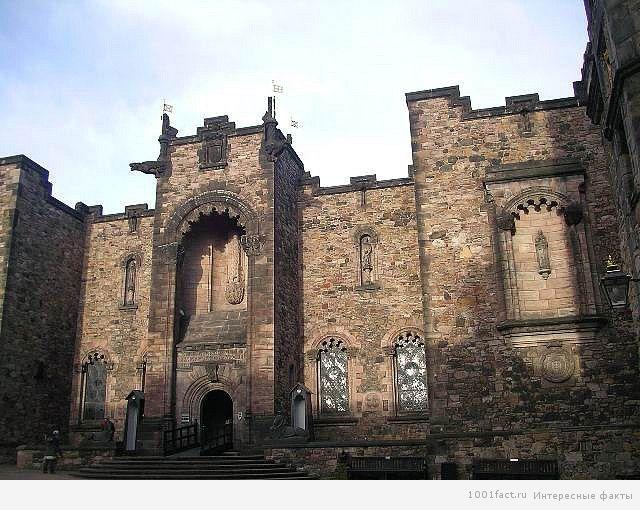 о замке в Эдинбурге
