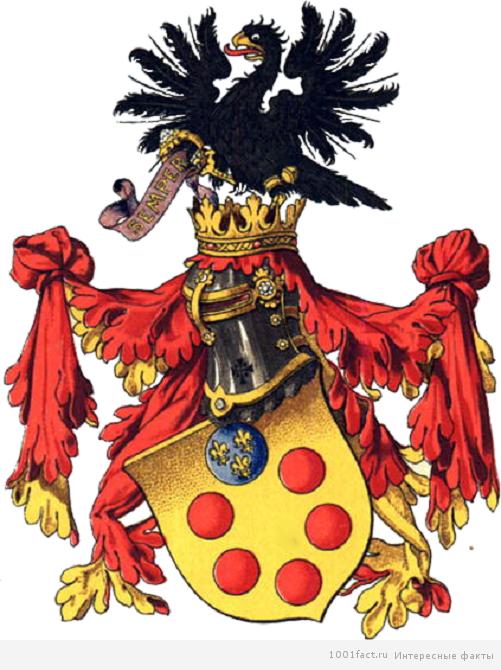 герб семьи Медичи
