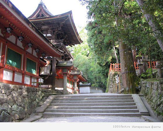 о храме Японии