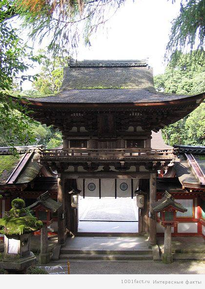 поклонение в японской религии_храм