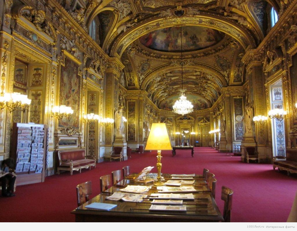 вид дворца изнутри