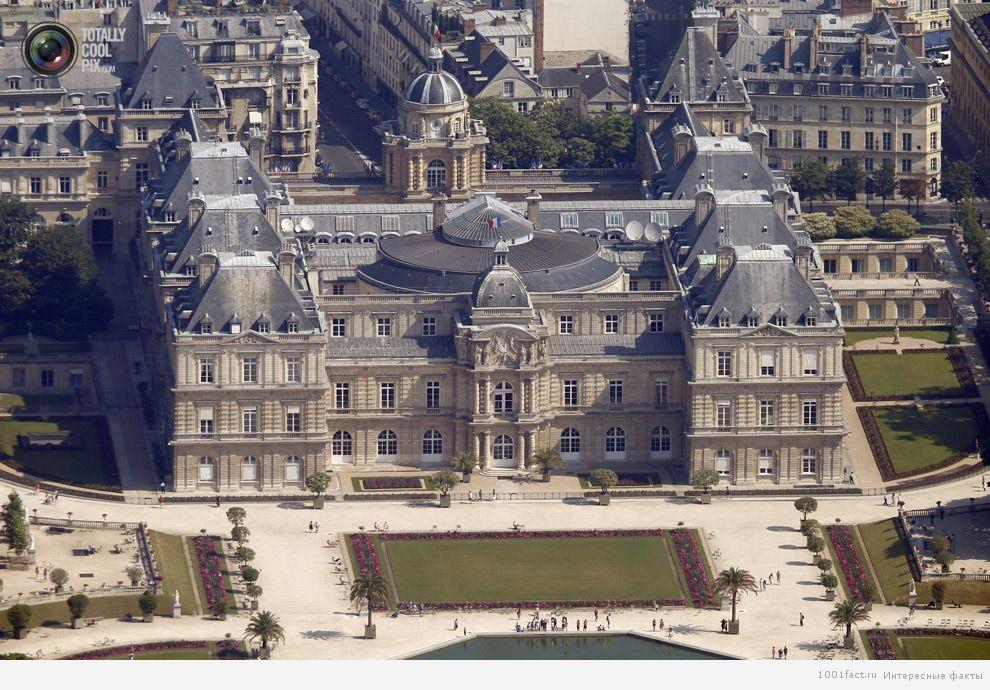 сооружение_Люксембургский дворец
