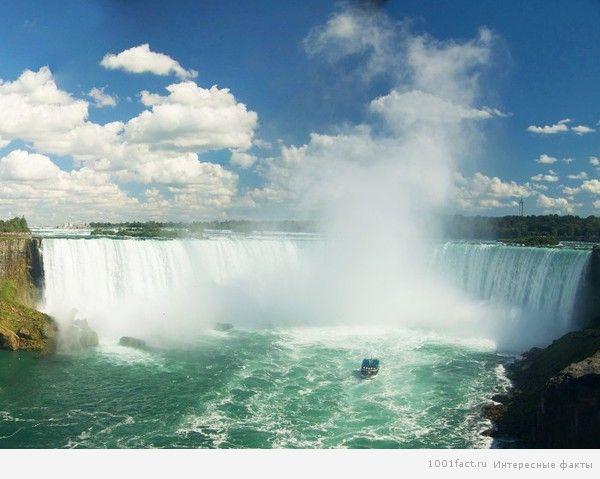 красота водопада