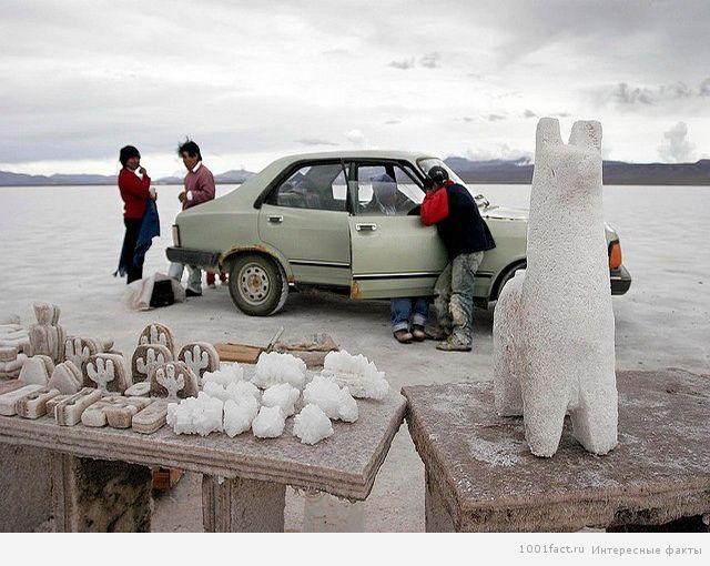 соляные скульптуры