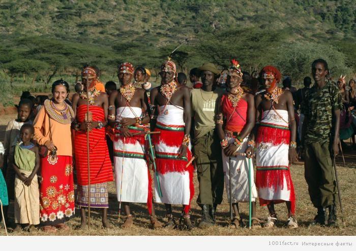 свадебная традиция в Кении