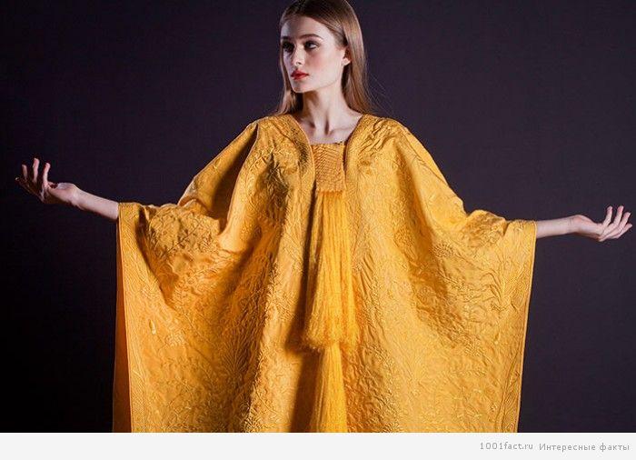 платье из паутины паука круглопряда