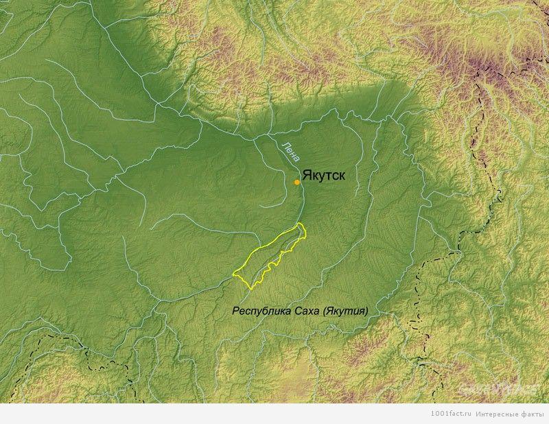 карта_ленские столбы