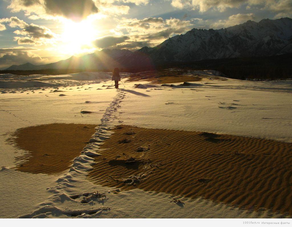 о пустыне в Забайкалье