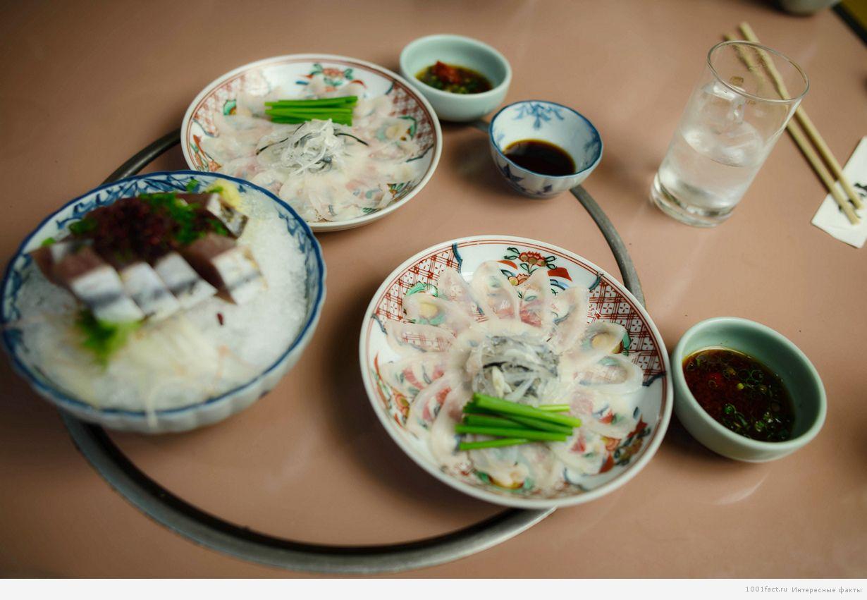 блюда из рыбы фугу